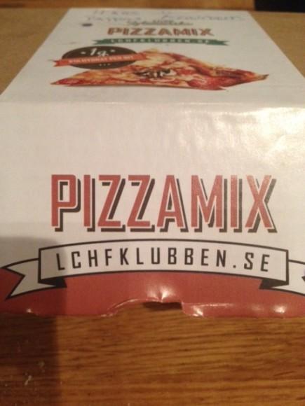 Pizzamix som är god och nyttig