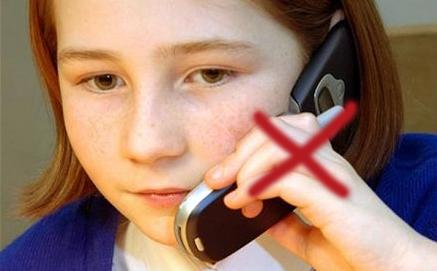Barn behöver inte mobilen 24/7...leva riktigt också!