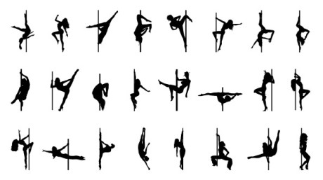Pole_Dancer_Silhouettes_Set_1_Preview
