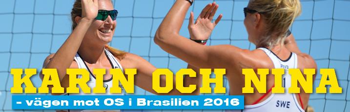 Karin och Nina - vägen mot OS i Brasilien 2016