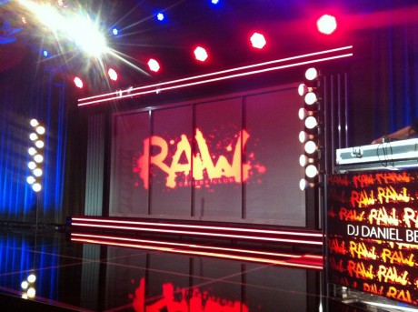Scenen på RAW Comedy Club