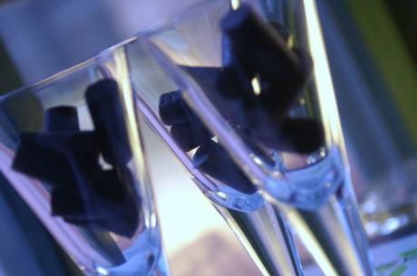Glas med lakrits i.
