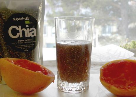 Ischia-te: Närande energidryck med chiafrön