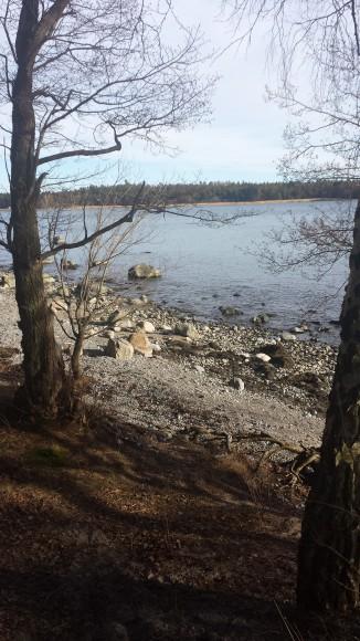 Utsikt över havet i Nynäshamn
