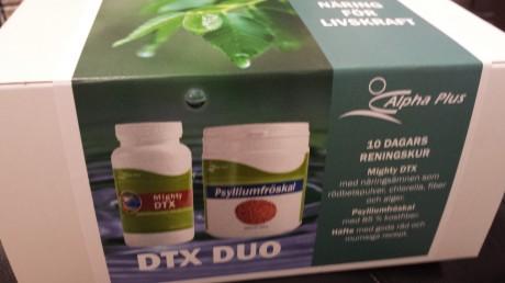 Detoxpaket från Alpha Plus