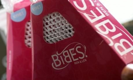 BIBES rosa förpackning