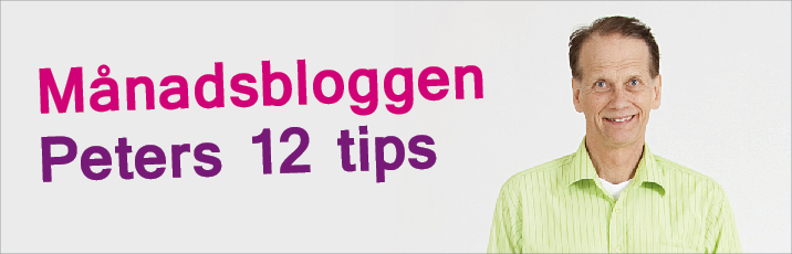 Peters 12 tips