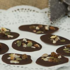 Chokladfläcker