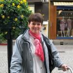 Eva sminkad med produkter från Dr. Hauschka
