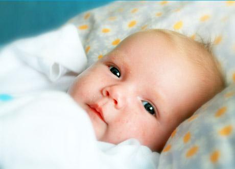 Liten bebis
