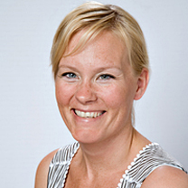 Närbild Jane Fogelström barnmorska