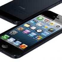 En svart iPhone