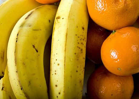 Bananer och apelsiner