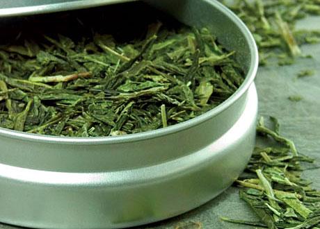 Grönt te i burk