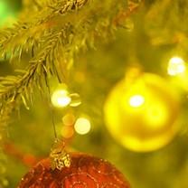 Julgranspynt i en julgran