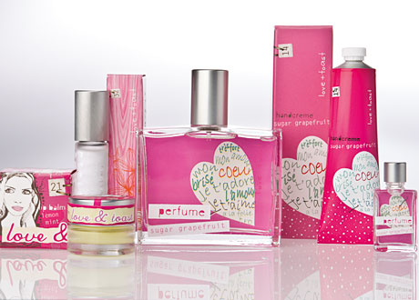 Love & Toast grapefruit collection