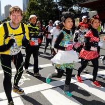 Johan Petré springer Tokyo Marathon