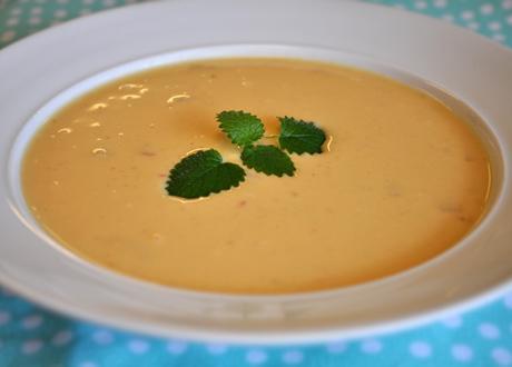 Krämig linssoppa
