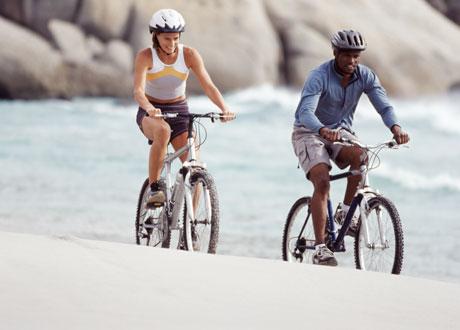 Två cyklister
