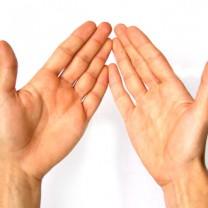 Två händer