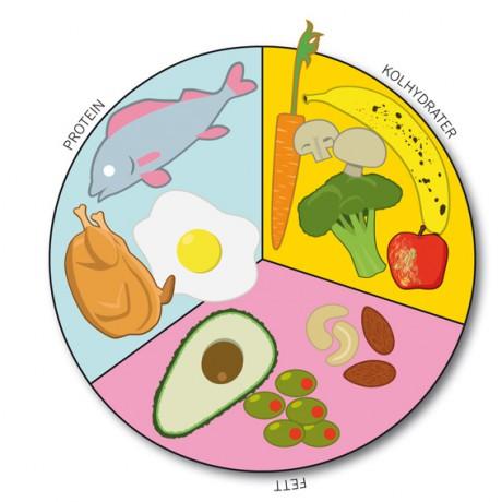Kostcirkeln för tränande