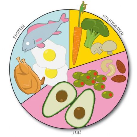 Kostcirkeln för välmående