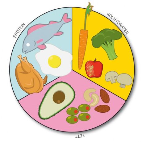 Kostcirkeln för viktminskning