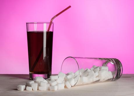 läsk och socker