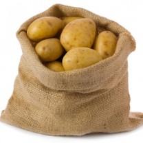 Säck med potatis