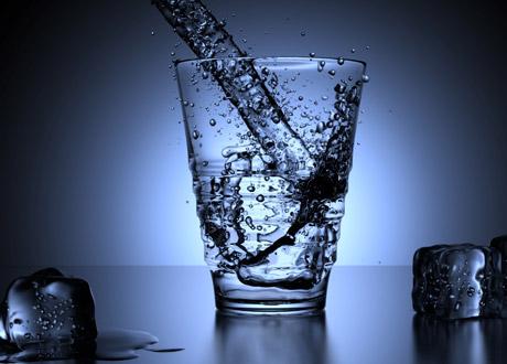 Ett vattenglas