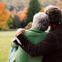Kärt gammalt par