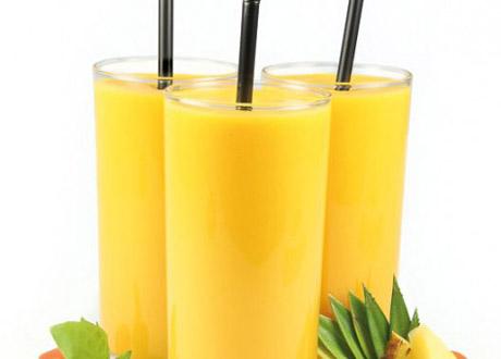 Papaya-smoothie för matsmältningen