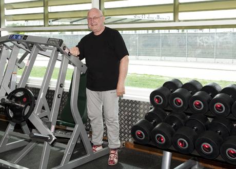 Peter kan träna igen