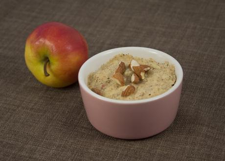 Liten LCHF Mug Cake äpple-kanel
