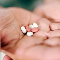 Piller i handflata