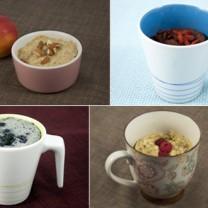 Mug cakes / muggkakor för frukost, mellis och dessert