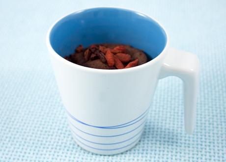 Mug Cake LCHF choklad-chili