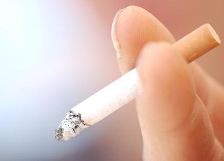 En som röker