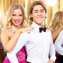 Let's Dance. 2014. Sigrid Bernson och Benjamin Wahlgren. Foto: Magnus Ragnvid/TV4