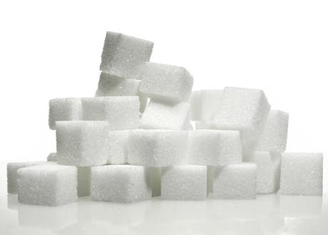 Sockerbitar på hög
