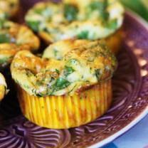 LCHF-mellanmål: Goda omelettmuffins