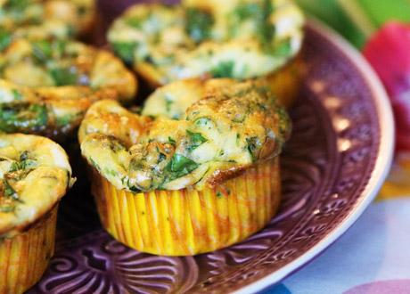 Lchf Recept Goda Omelettmuffins Till Frukost Eller