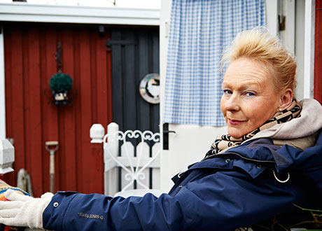Porträtt på Agneta Arppe