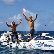 Team Endurance teamwork över atlanten