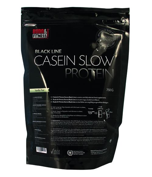 Budo & Fitness Casein Slow Protein (päron/vanilj)