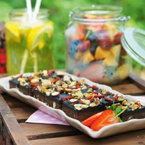 Nyttig dessert: Brownie med svarta bönor