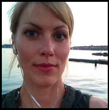Amelie Lagerström närbild
