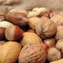 mixade nötter