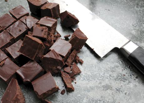 Chokladtryffel i bitar