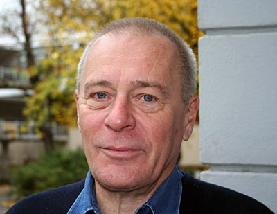 Lars Jalmert porträtt utomhus